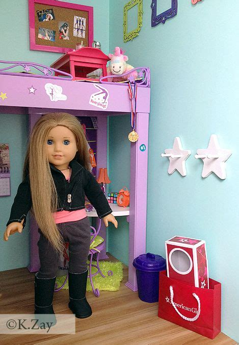 american girl doll mckenna bed 9 best images about american girl mckenna s bedroom