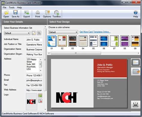 business card template software 32 best mac os x software images on mac os