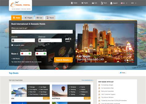 pretty travel portal templates photos gt gt travlio a travel