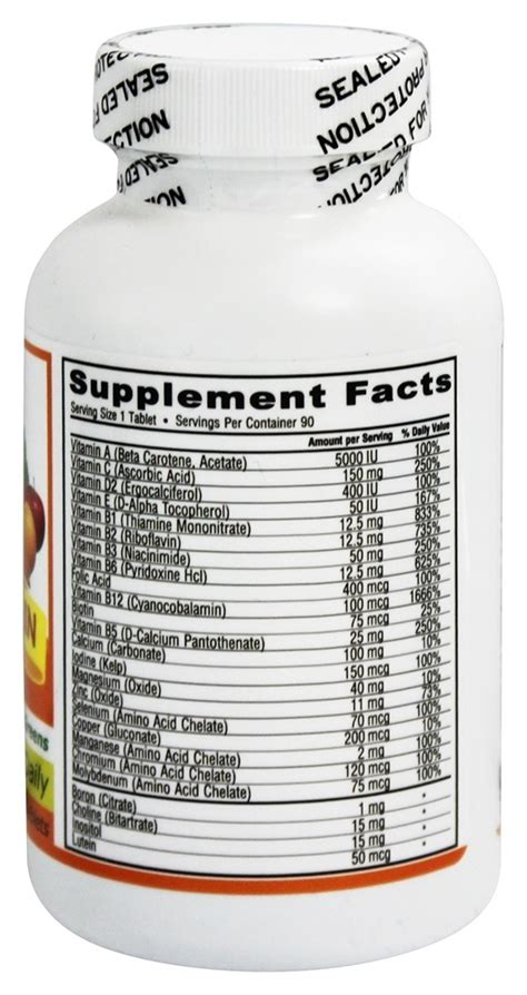 Sale Wellness 2 A Day Multi Vitamin Mineral Formula 120 Tablets deva nutrition vegan multivitamin mineral one daily iron free 90 coated 895634000195 ebay