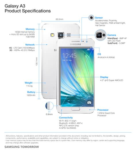samsung electronics ultra slim galaxy a5 and galaxy a3 optimized for social networking