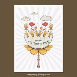 Mother Day Greeting Card Design by Greeting Card With Pretty Design For Mother S Day Vector