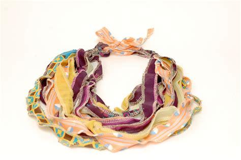 diy scarf diy anthropologie inspired scarf necklace