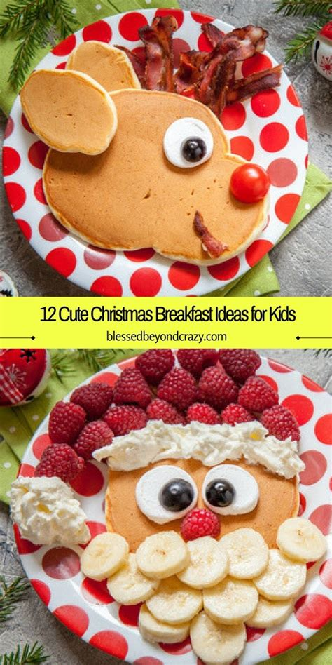 christmas inspired breakfast 12 breakfast ideas for