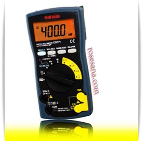 Multimeter Sanwa Cd771 jual sanwa digital multimeter cd771