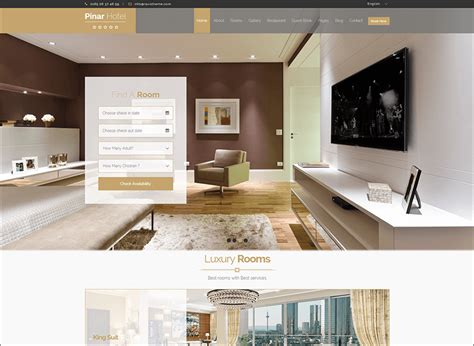 bootstrap templates for hotel reservation 17 hotel bootstrap themes free premium templates