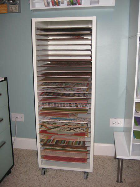 shelf paper for kitchen cabinets scrapbook paper storage org poster said she built it