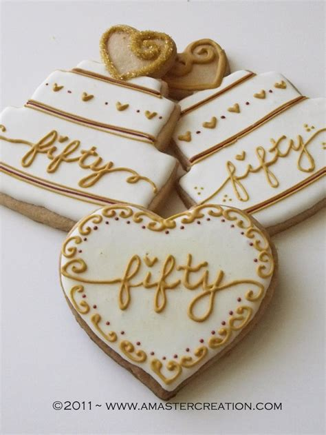 50th wedding anniversary ideas 837 best engagement and wedding cookie ideas images on