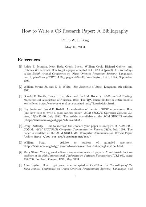 How To Make A Citation In A Research Paper - bibliography in a research paper writefiction581 web fc2