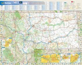 Maps Of Montana by Montana Wall Map Maps Com