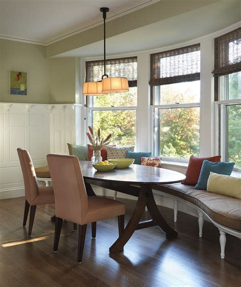 bench bay window bay window seating in kitchen designs