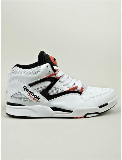 reebok light up shoes reebok pump omni lite sneakers in white for men lyst