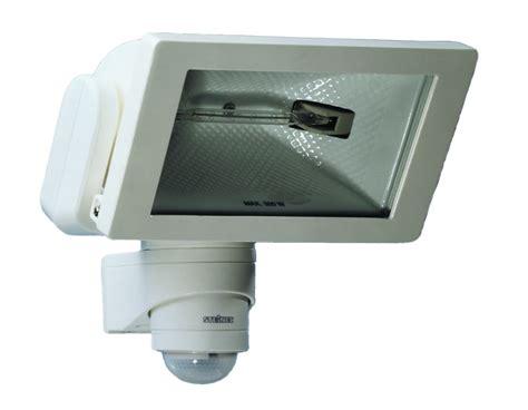 halogen motion sensor light steinel 174 hs300w 300 watt halogen motion sensor light white