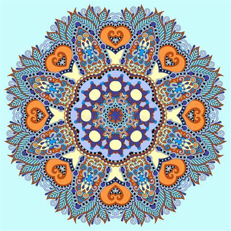 simbolo fiore di loto simbolo indiano spirituale decorativo cerchio di loto