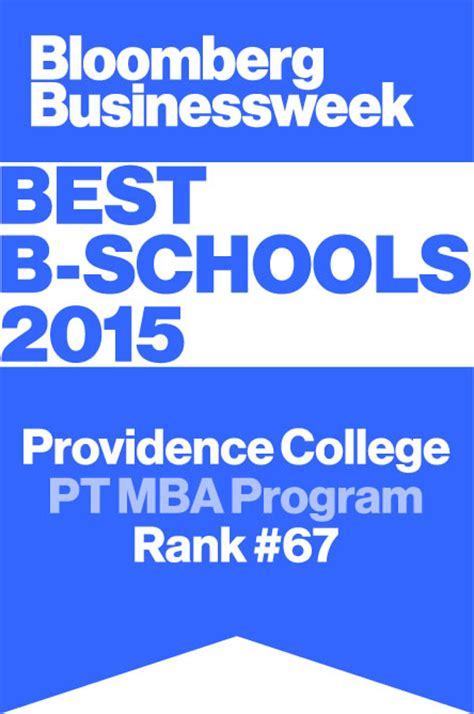 College Mba Program by Pc Mba Program Providence College School Of Business