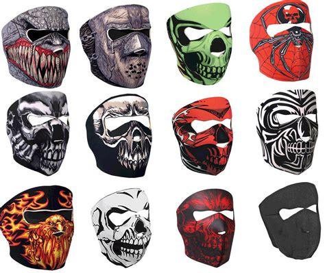 Masker Motor S9 Balaclava Masker Skull Cap Skull Tengkorak Murah neoprene skull reversible motorcycle mask ebay
