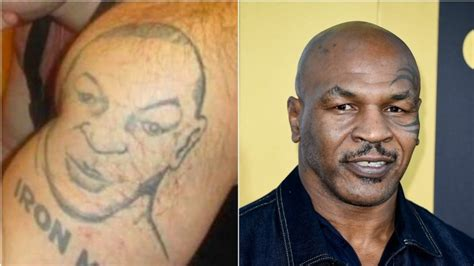 mike tyson removes tattoo tattoos horribly wrong