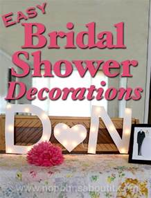 How To Make Tissue Paper Decorations Easy Bridal Shower Decorations No Bohns About It