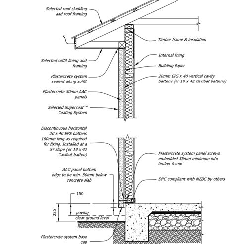 section 3406 a 1 c of the internal revenue code typical plastercrete wall cross section detail home