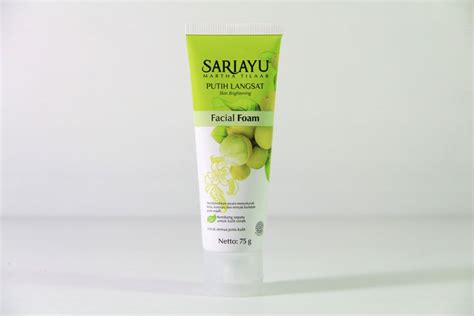 Sariayu Foam Acne toko kosmetik dan bodyshop 187 archive new sari