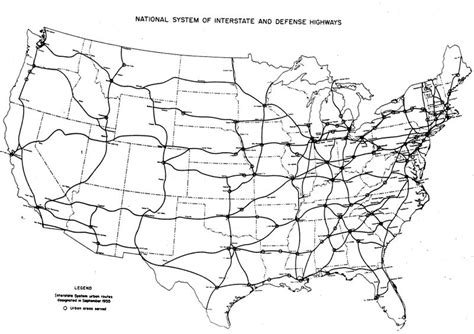 map us highways system michael walch architecture and the world all around it