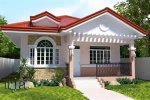 bungalow house designs with terrace 12 house with colored theme roofing bahay ofw