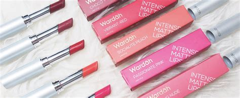 Review Lipstik Matte Wardah review harga lipstik wardah matte terbaru 2017