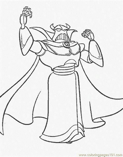 Zurg Coloring Pages coloring pages zurg gt story free