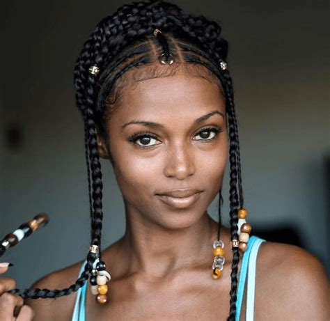15 inspirations of braided hairstyles 15 stunning images of fulani inspired braids protective