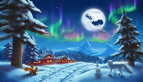 inspiring christmas paintings  premium templates