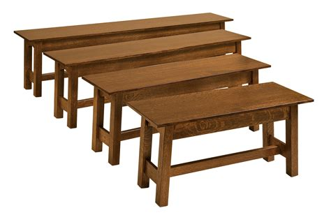 open bench bay hill bench hardwood creations