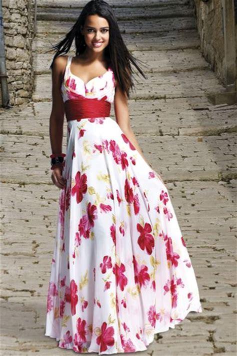bg haute white red floral evening dress  french novelty