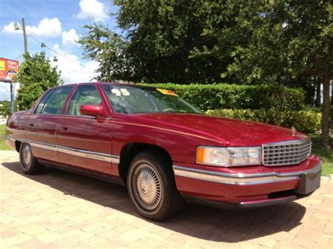 1995 cadillac deville 4 9 l owners manual buy used 1995 cadillac deville base sedan 4 door 4 9l 66 000 miles in fort myers florida