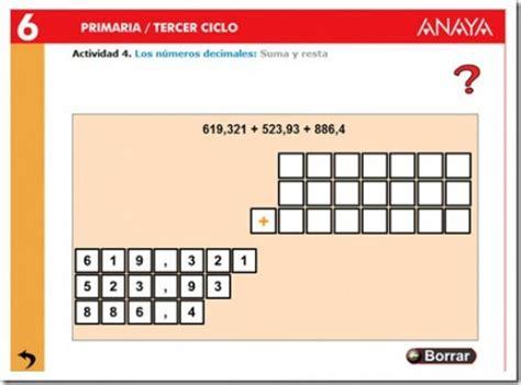 suma y resta de decimales jugando y aprendiendo suma y resta de decimales jugando y aprendiendo new