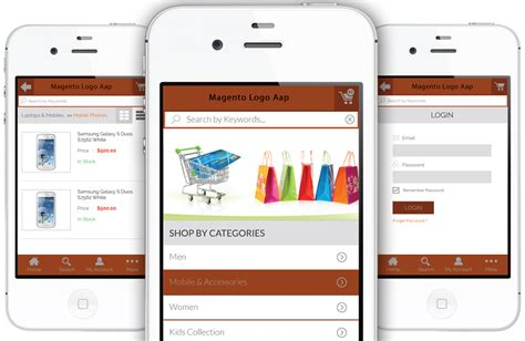 magento mobile magento mobile app for ecommerce create m commerce