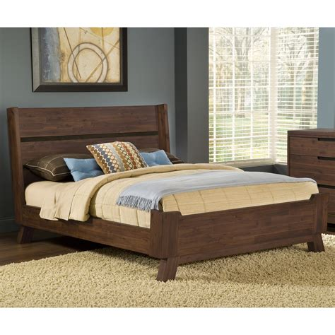 Solid Platform Bed Portland Solid Wood Platform Bed Beds At Hayneedle