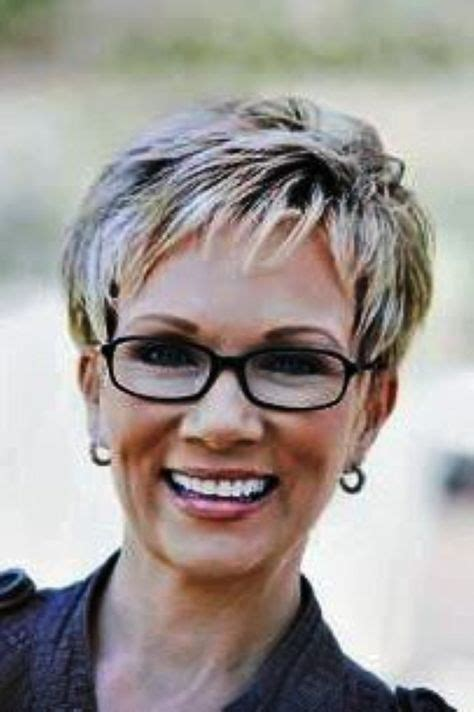 hairstyles with glasses 2015 short hairstyles for women over 60 with glasses images