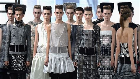 Chanel Haute Couture 2008 Front Row by Chanel Haute Couture Front Row For Fall 2013