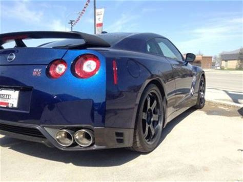 nissan gtr black edition blue 2016 nissan gt r black edition winnipeg manitoba used