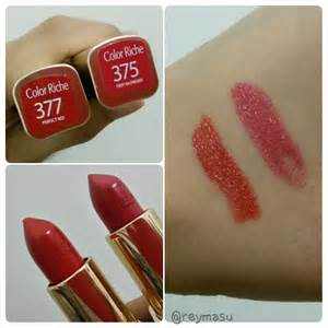 loreal colors loreal color riche lipstick review reymasu