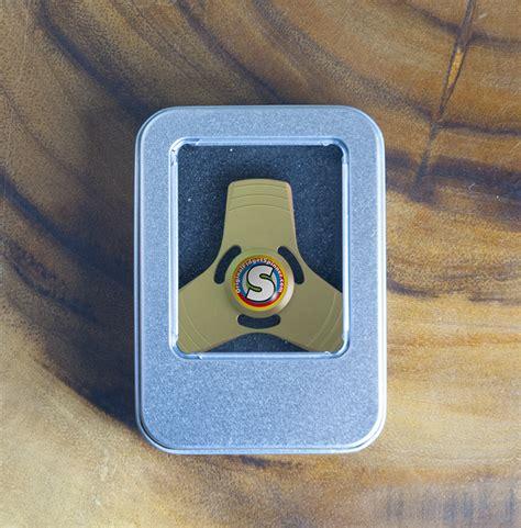 Fidget Spinner Spiner Original Dbs 05 Metal Aluminium oro aluminio fidget trispinner mini the original fidget