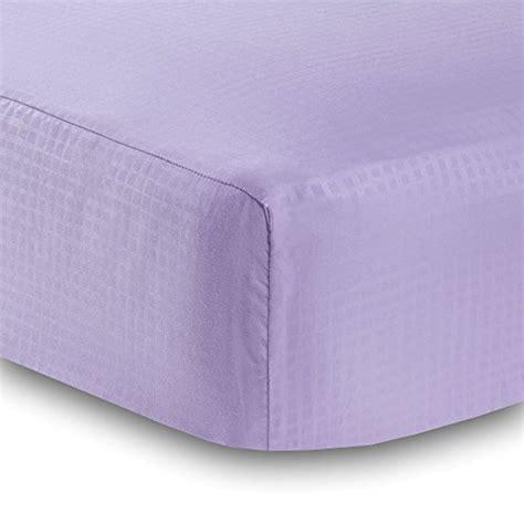 solid lavender crib bedding breathablebaby solid fitted crib sheet lavender