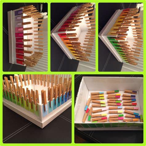 Farben Im Kindergarten Ideen by Farben Zuordnen Und F 246 Rderung Der Feinmotorik Montessori