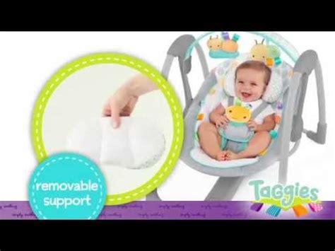 taggies baby swing bright starts babyschaukel elepaloo baby swing doovi