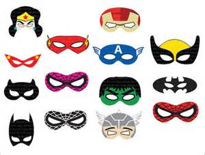superhero mask template 7 download documents in psd pdf vector