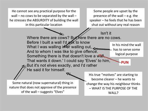 Mending Wall Theme Essay by Mending Wall Robert