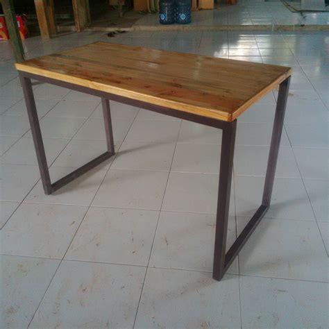 Kayu Untuk Meja jual meja makan minimalis kayu jati belanda happy vape
