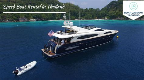 speed boat rental how to plan and book speed boat rental in thailand