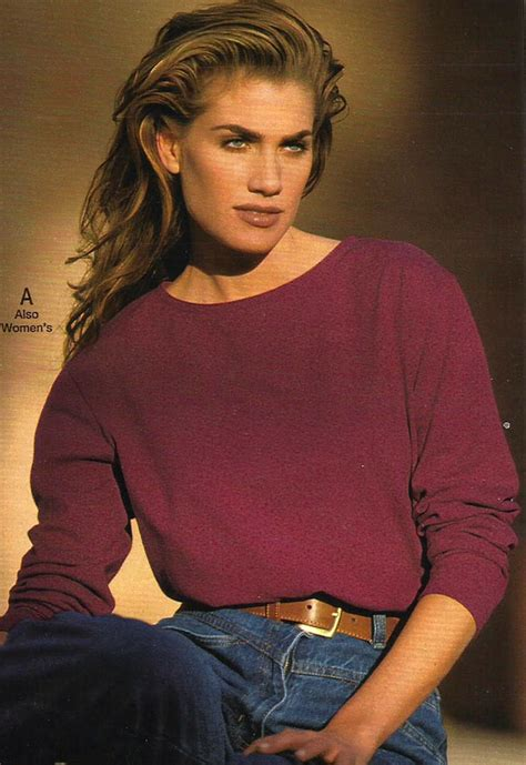 Fashion model from a 1993 catalog #vintage #fashion #1990s