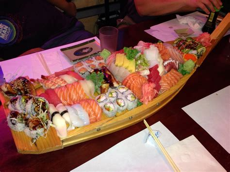 boat house sushi huge sushi boat www pixshark com images galleries with a bite